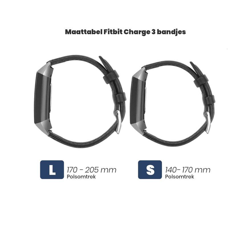 Fitbit Charge 3 Maattabel - Onlinebandjes.nl