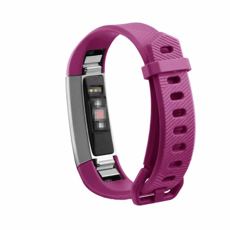 Fitbit alta bandje roze silicone - Onlinebandjes.nl