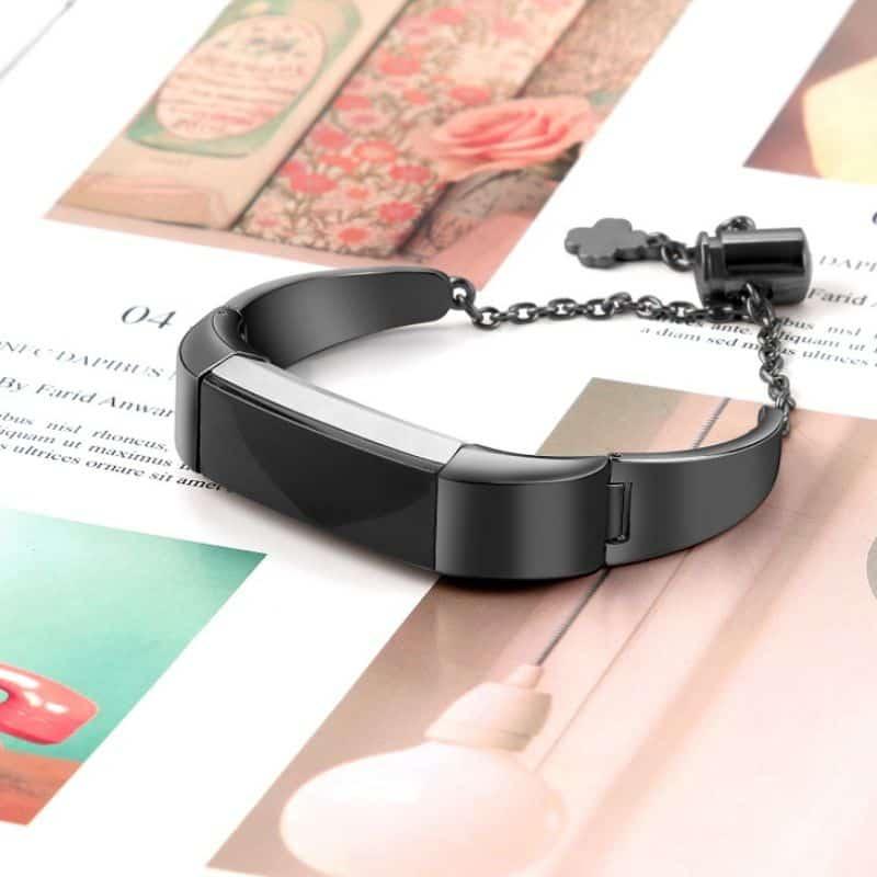 Fitbit alta bandje zwart hanger - Onlinebandjes.nl