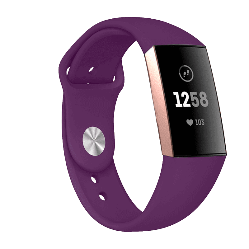 Fitbit bandje Charge 3 Paars - Onlinebandjes.nl