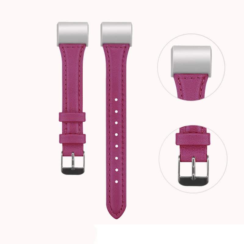 Fitbit bandje charge 2 roze:rood - Onlinebandjes.nl