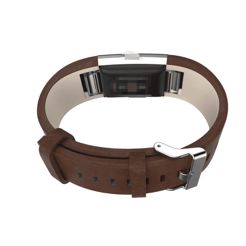 Fitbit bandje charge2 kalfsleer - Onlinebandjes.nl