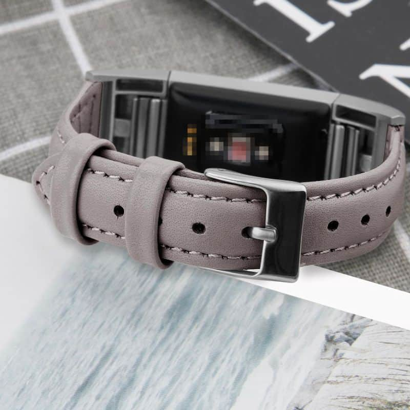 Fitbit charge 2 bandje leer - Onlinebandjes.nl