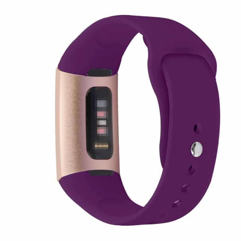 Fitbit charge 3 bandje paars - Onlinebandjes.nl