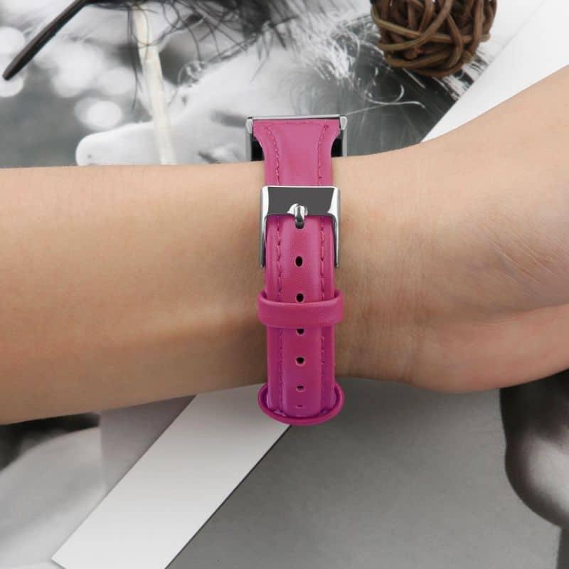 Fitbit charge bandje roze rood - Onlinebandjes.nl