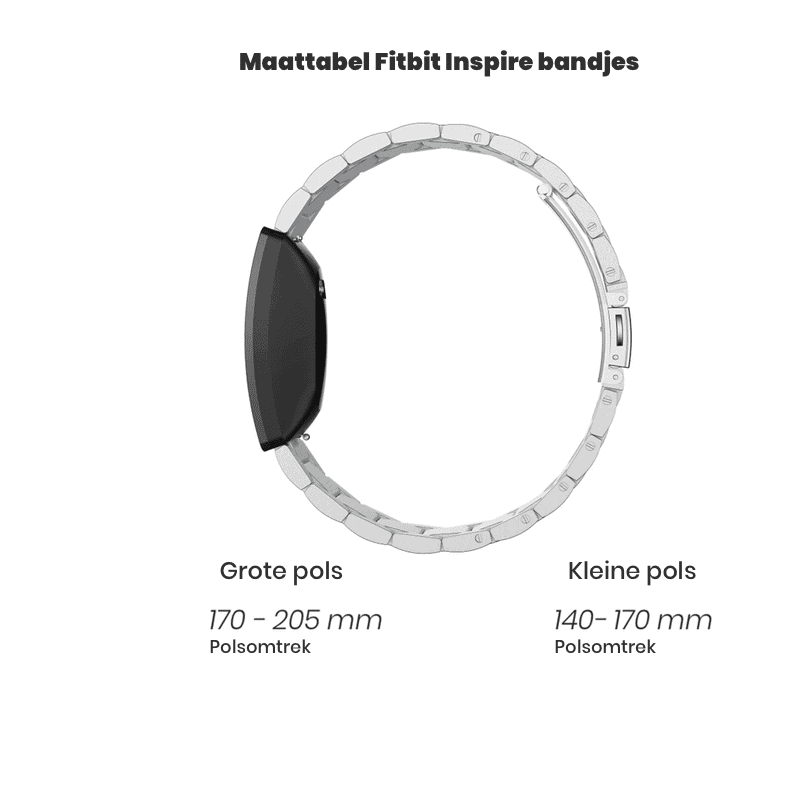 Fitbit inspire bandjes - Onlinebandjes.nl