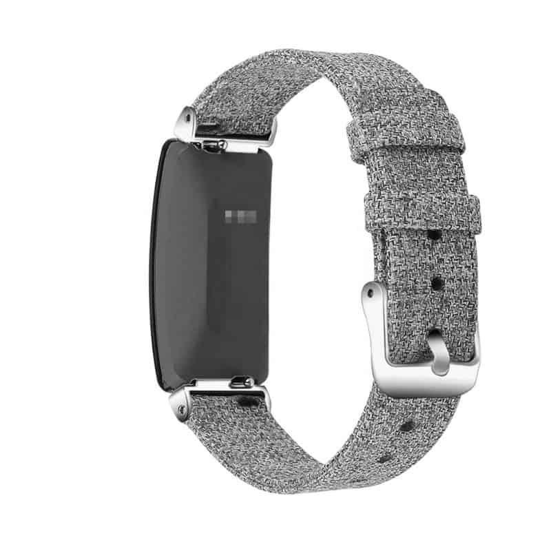 Fitbit inspire hr bandje canvas - Onlinebandjes.nl