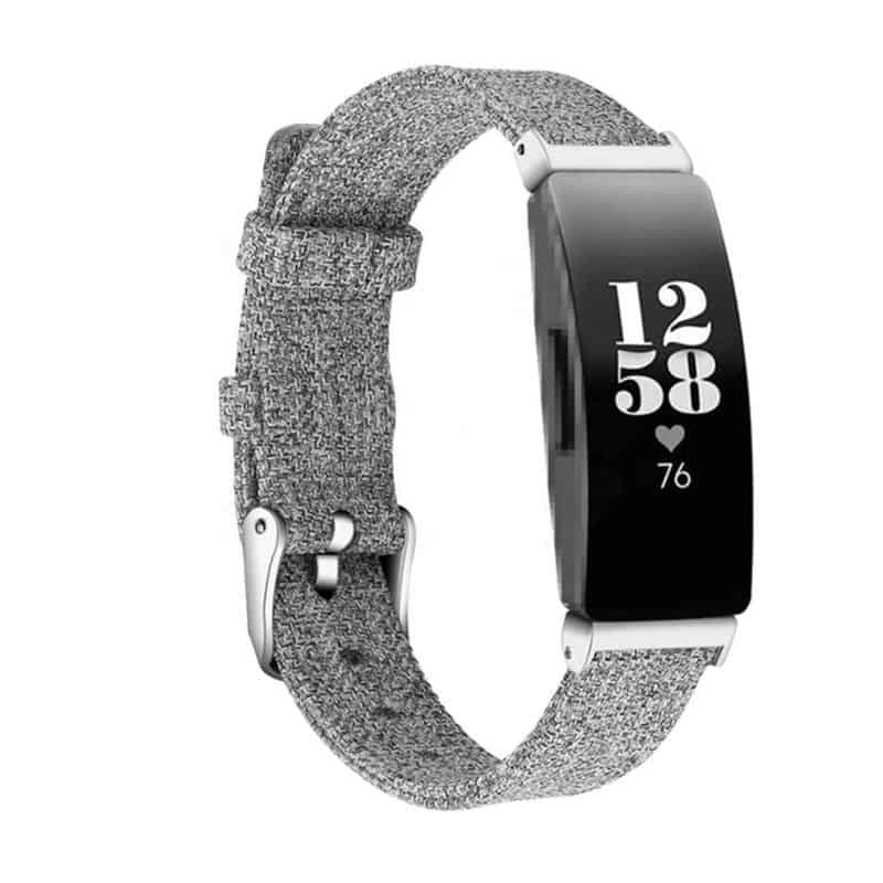 Fitbit inspire hr bandje lichtgrijs - Onlinebandjes.nl