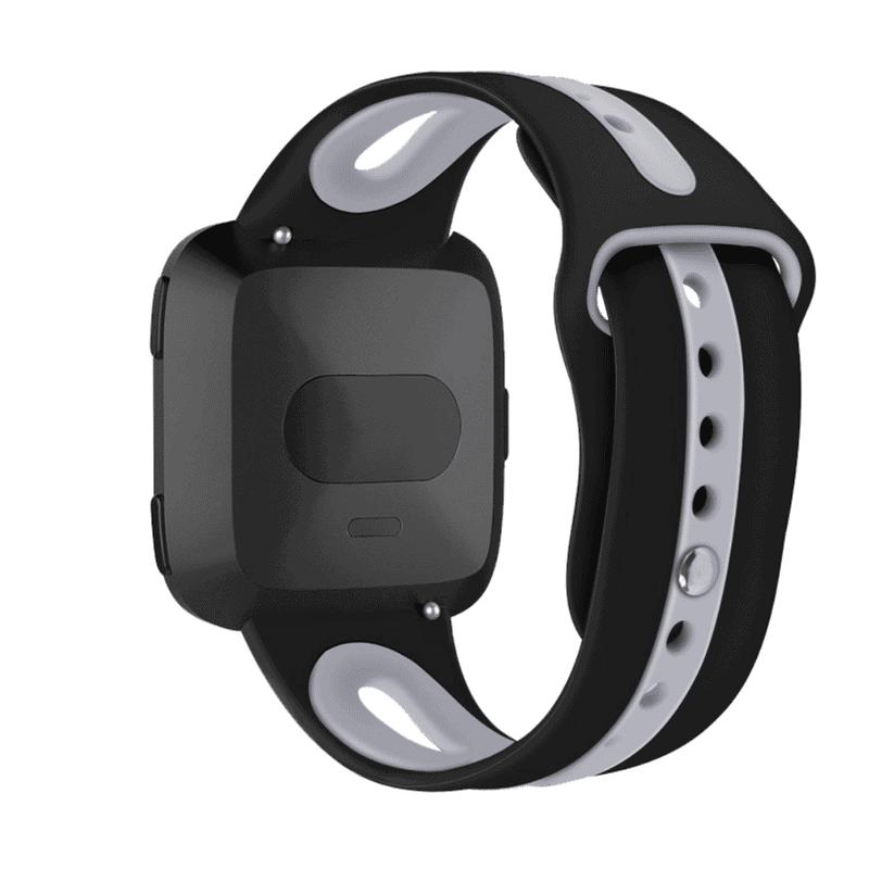 Fitbit versa 2 bandje sport - zwart - Onlinebandjes.nl
