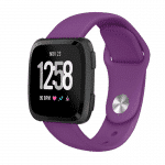 Fitbit versa bandje siliconen paars – Fitbitbandje.nl
