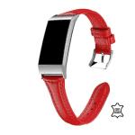fitbit charge 4 bandje leer rood – Fitbitbandje.nl