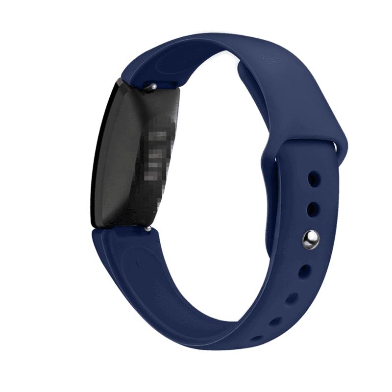 fitbit inspire hr bandje siliconen marineblauw - Onlinebandjes.nl