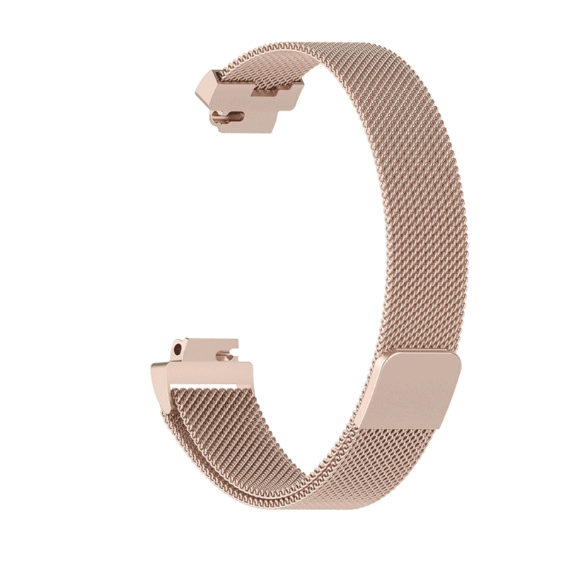 fitbit inspire ht inspire bandje milanese chmpagne goud - Onlinebandjes.nl