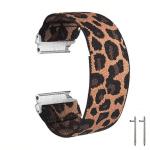 fitbit versa 2 bandje elastisch canvas tijgerprint – Onlinebandjes.nl