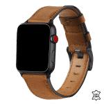 Apple Watch bandjes leer geel:bruin – Onlinebandjes.nl