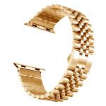 Apple watch bandje RVS roze goud – Onlinebandjes.nl
