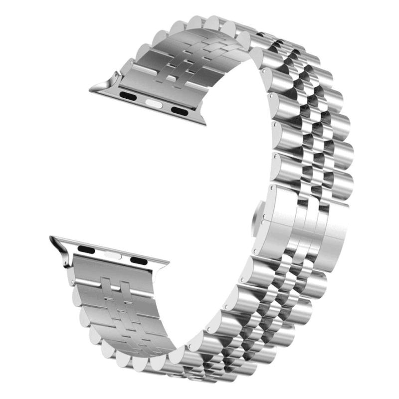 Apple watch bandje RVS zilver - Onlinebandjes.nl