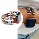 Apple watch 38mm bandje leer bruin – Onlinebandjes.nl