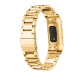 Fitbit charge 3 bandje rvs goud – Onlinebandjes.nl
