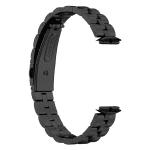 Fitbit Luxe bandje RVS zwart – Onlinebandjes.nl