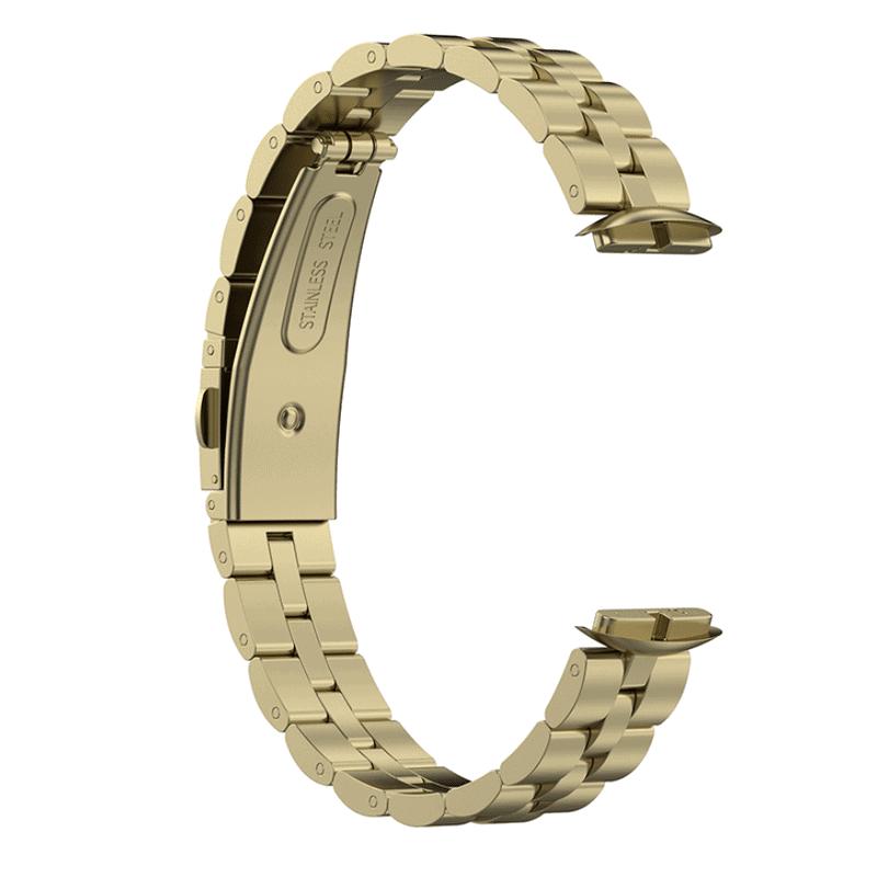 Fitbit luxe bandje official goud - Onlinebandjes.nl