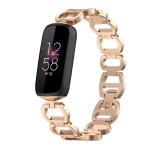 Fitbit luxe bandje rose gold rvs – Onlinebandjes.nl