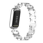Fitbit luxe bandje rvs zilver – Onlinebandjes.nl