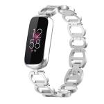 Fitbit luxe bandje zilver rvs – Onlinebandjes.nl