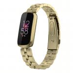 Fitbit luxe rvs bandje official goud – Onlinebandjes.nl